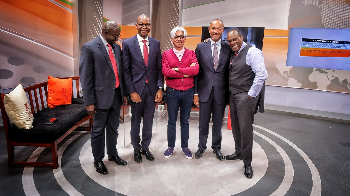 D lLIeGXkAcVKo  - Squad goals! Top CEOs pay tribute to BFF Bob Collymore