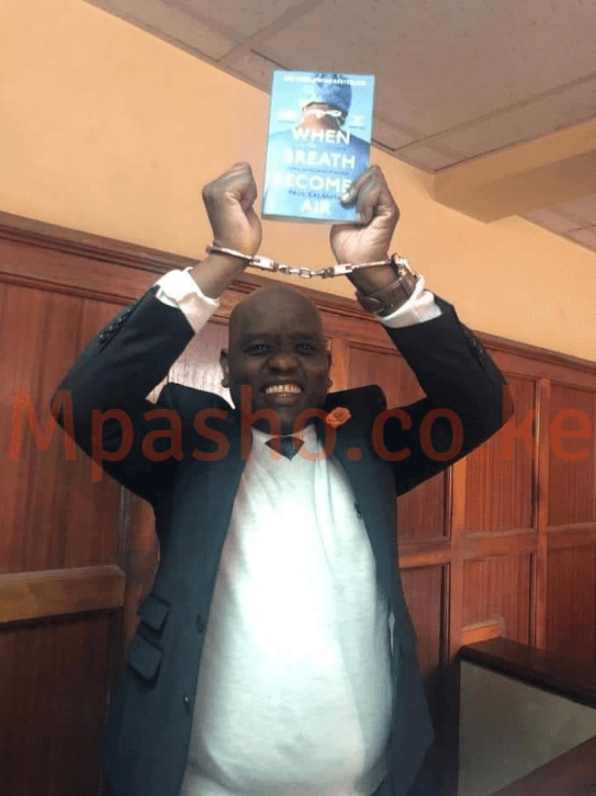 Dennis Itumbi in court - Holy herb! Dennis Itumbi shares bhang experience in police cells