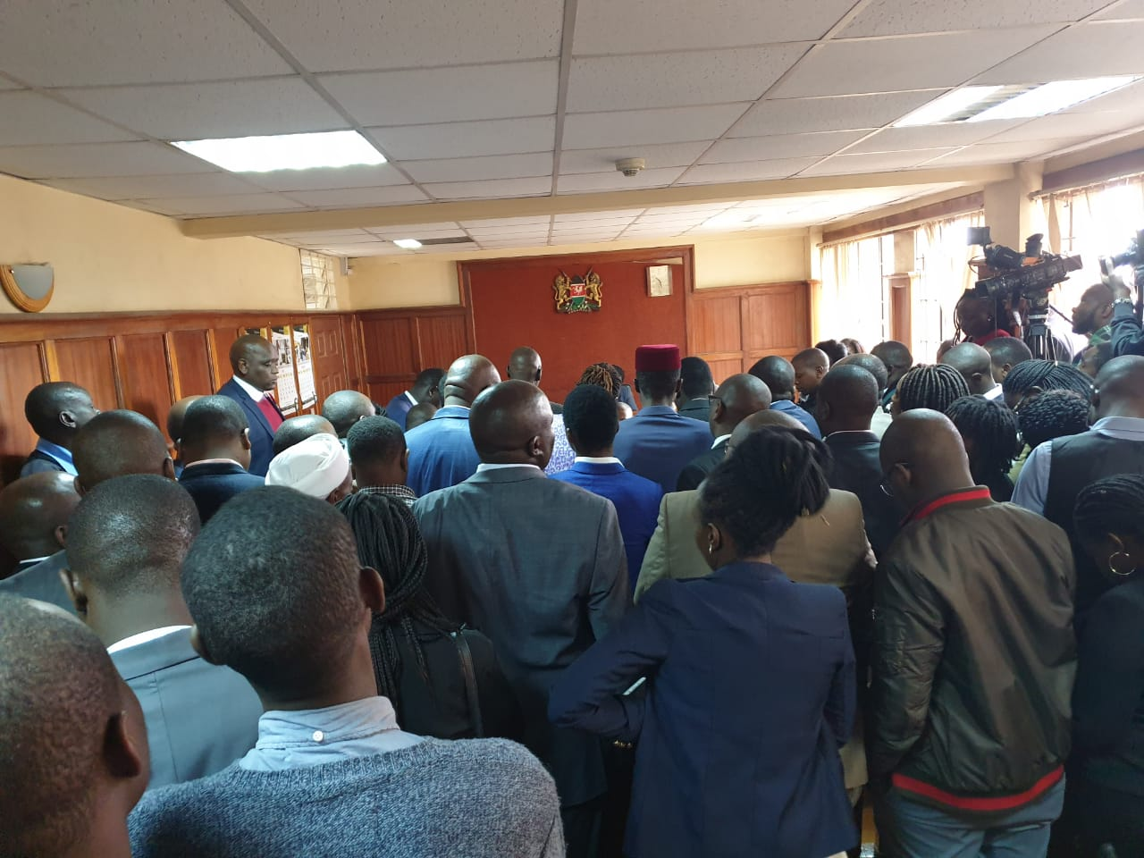 IMG 20190704 WA0022 - Undying love! Jaque Maribe stands by Dennis Itumbi in court