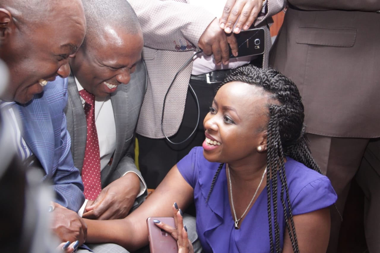 IMG 20190704 WA0056 - Undying love! Jaque Maribe stands by Dennis Itumbi in court