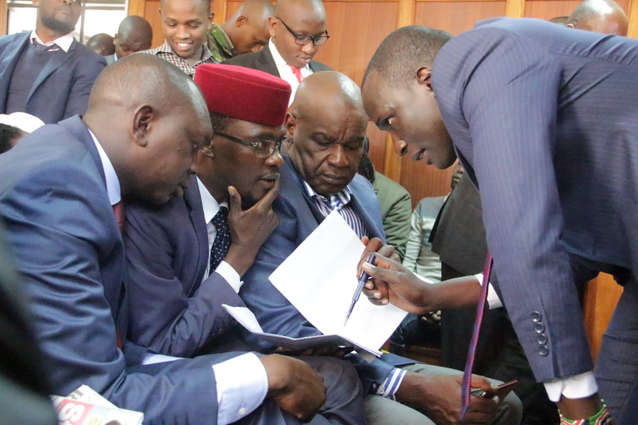 IMG 20190704 WA0057 - Undying love! Jaque Maribe stands by Dennis Itumbi in court