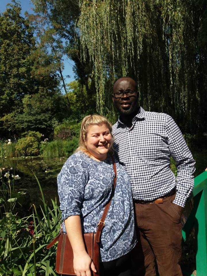 Ken Okoth his wife