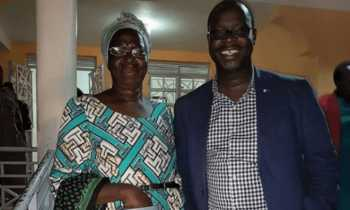 Ken Okoths mother 350x210 - 'Respect Ken Okoth's wish!' Kenyans tell family after 'denying' him his last wish