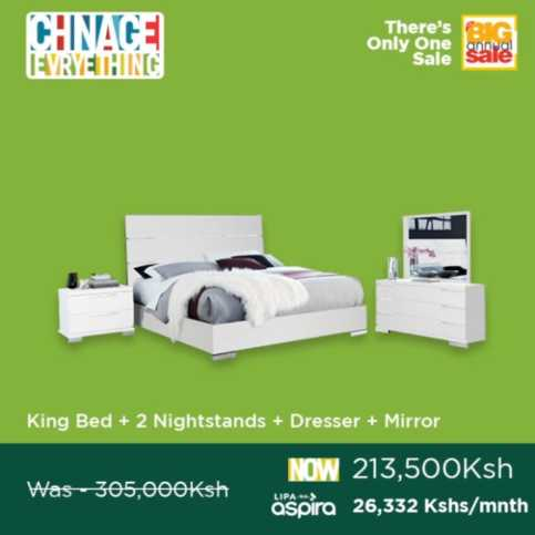 King Bed 2 nightstands 483x483 - Fix your bedroom so you sleep better!