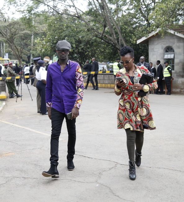 MG 04951 - He was loved! Wahu and Nameless attends Bob Collymore's mass (Photo)