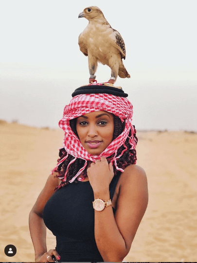 Michelle Ntalami dubai makena6 - 'What a freaking experience,' Michelle Ntalami on Dubai vacay with Makena