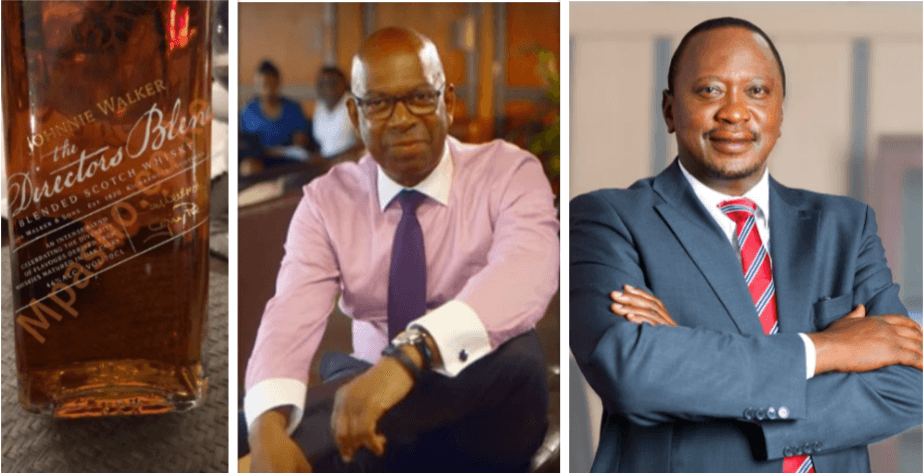 Screen Shot 2019 07 05 at 3.44.09 PM - Bob Collymore's 'boys' find President Uhuru's 460K gift promised to him before Bob's death