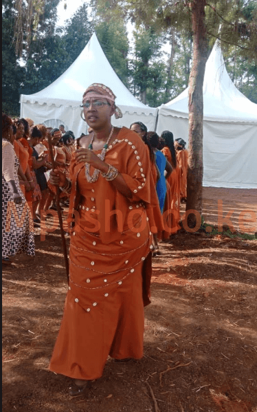 Screen Shot 2019 07 13 at 3.43.59 PM - Here comes the bride! Fashion and pure class at Anne Waiguru's wedding