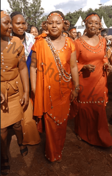 Screen Shot 2019 07 13 at 4.11.26 PM - Here comes the bride! Fashion and pure class at Anne Waiguru's wedding