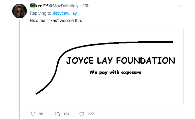 Screen Shot 2019 07 19 at 7.32.47 AM - 15 savage and hilarious memes calling out Joyce Lay for asking for free logos
