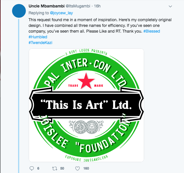 Screen Shot 2019 07 19 at 7.33.56 AM - 15 savage and hilarious memes calling out Joyce Lay for asking for free logos