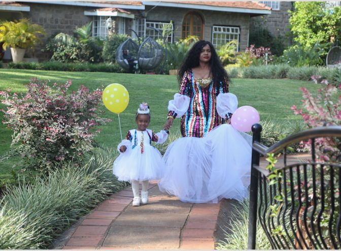 Screen Shot 2019 07 26 at 4.27.21 PM - Photos from DJ Pierra Makena's Ksh 0.5m birthday party for daughter, Ricca