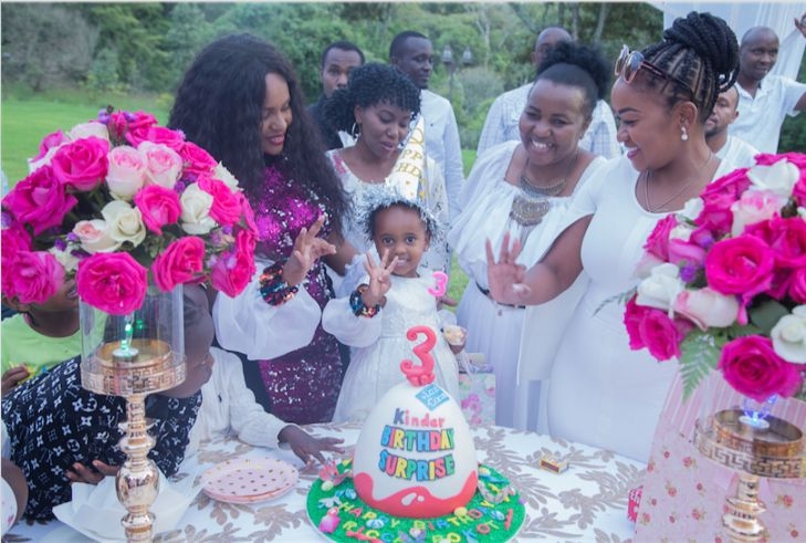 Screen Shot 2019 07 26 at 4.32.02 PM - Photos from DJ Pierra Makena's Ksh 0.5m birthday party for daughter, Ricca