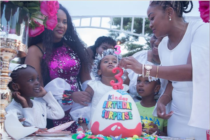 Screen Shot 2019 07 26 at 4.37.21 PM - Photos from DJ Pierra Makena's Ksh 0.5m birthday party for daughter, Ricca