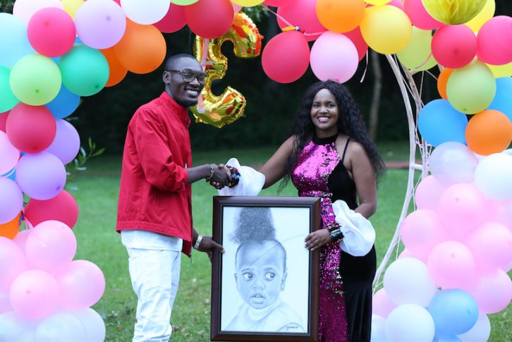 Screen Shot 2019 07 26 at 4.37.53 PM - Photos from DJ Pierra Makena's Ksh 0.5m birthday party for daughter, Ricca