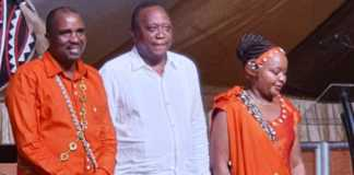 Uhuru with the Waiganjos