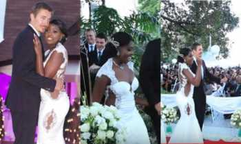 Vanessa Kiunas wedding 350x210 - 'It was expensive and took 6 months to be made,' Kathy Kiuna talks about daughter's gown