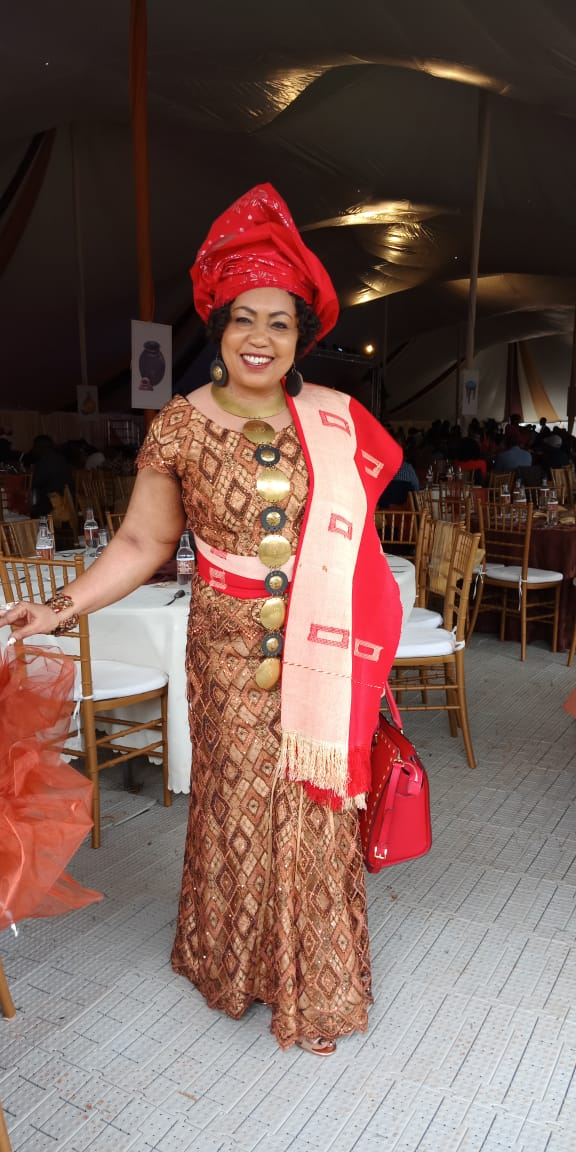 Miss World Kenya CEO Terry Muigai attends Anne Waiguru's wedding oozing pure class
