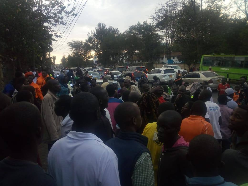 WhatsApp Image 2019 07 26 at 5.41.58 PM - 'God, why him! We are now orphans,' Kibra residents mourn Ken Okoth