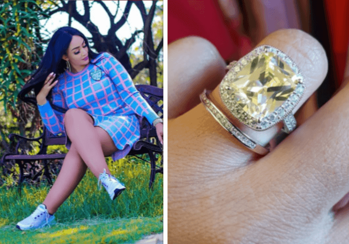 Zari ring cover - Zari shades Diamond 'He brought women from the streets into my bed'