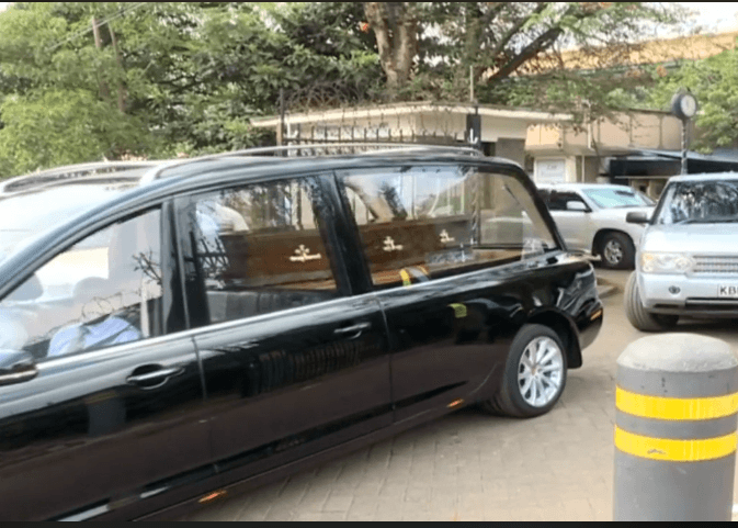 bb collymore - Bob Collymore's final send off, convoy from Lee Funeral Home (photos)