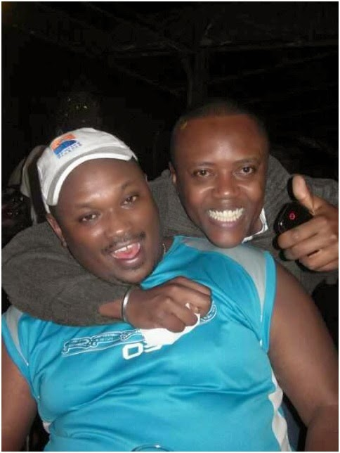 maina1 - Meet the handsome son to Maina Kageni's fan, Wakanai