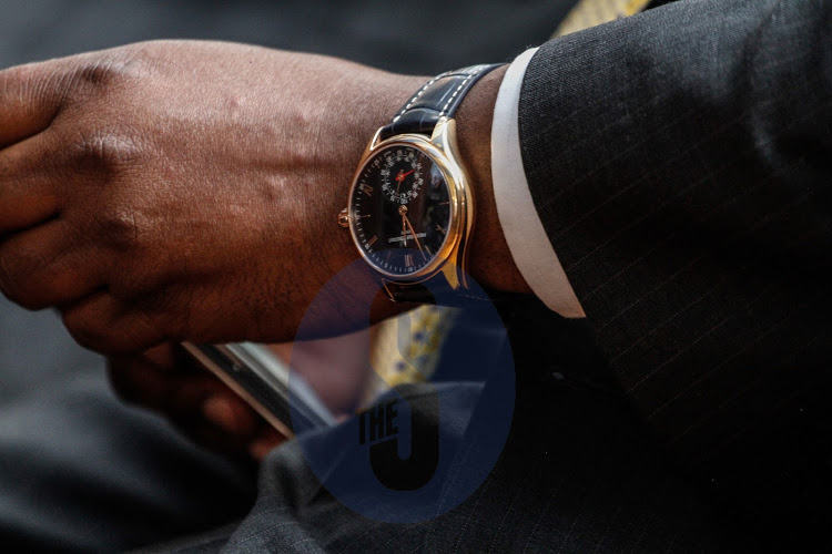 unnamed 32 - Rich and flamboyant! Check out Henry Rotich and Thugge's watch game