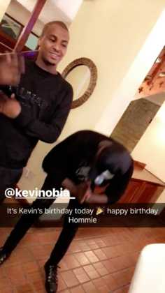 Kevin Obia's birthday party