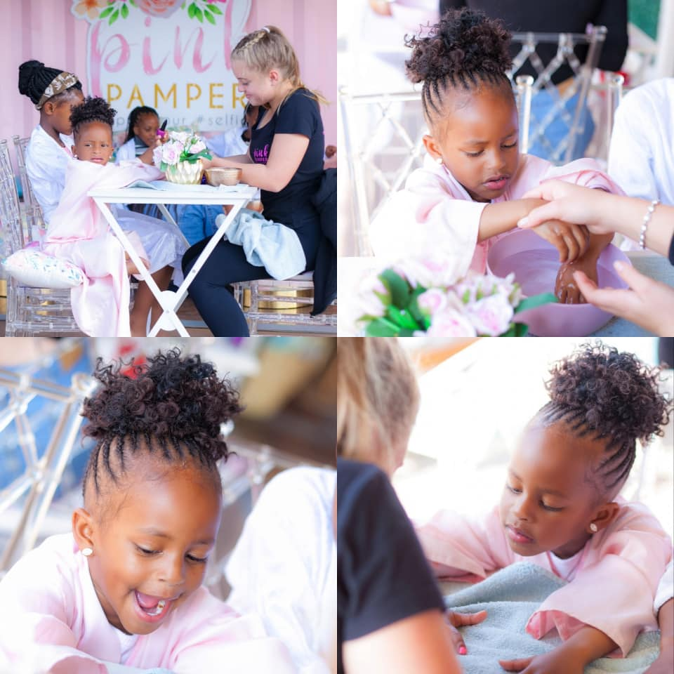 67599842 10220213706837830 906829585172135936 n - Aww! Diamond Platnumz' daughter celebrates birthday in style in his absence