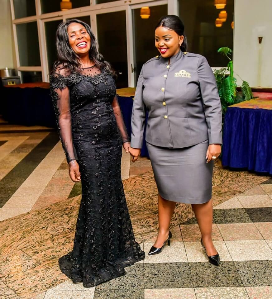Rose Muhando with Rev Lucy Natasha