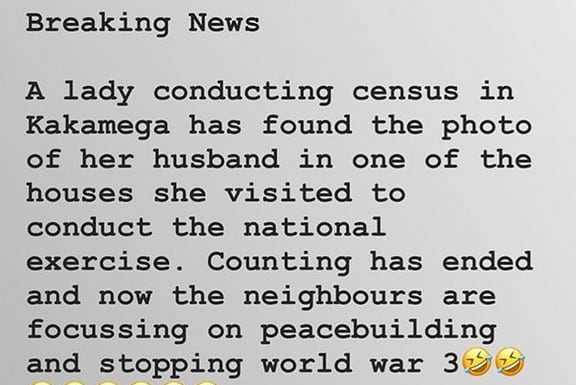 68780987 1091119631080474 3858577249865665952 n 576x385 - Hilarious! Census memes that went viral on social media