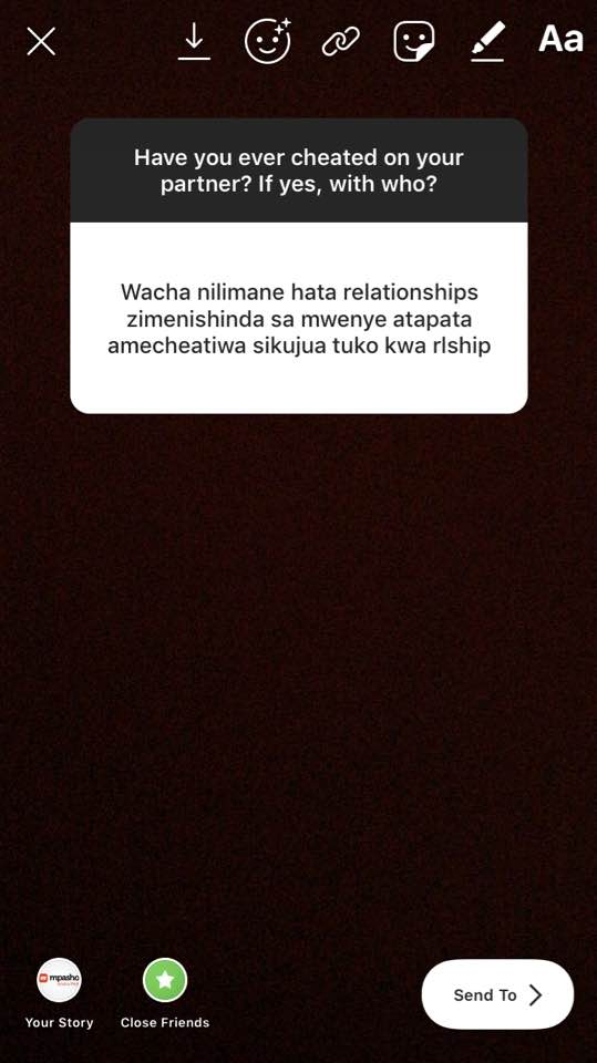 68884211 2649400031760443 6299728562278629376 n - 'I slept with his father and cousin,' Kenyans on their cheating sexcapades