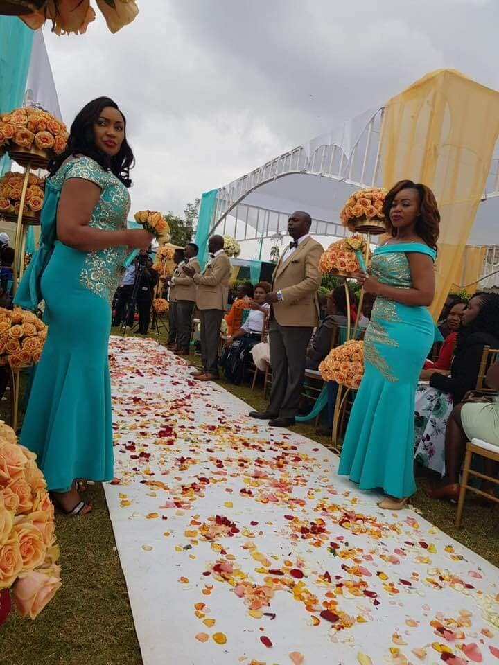 69147258 10220115302576388 4956906251205214208 n - Harusi tunayoooo: Photos gospel artiste Jane Muthoni's posh wedding