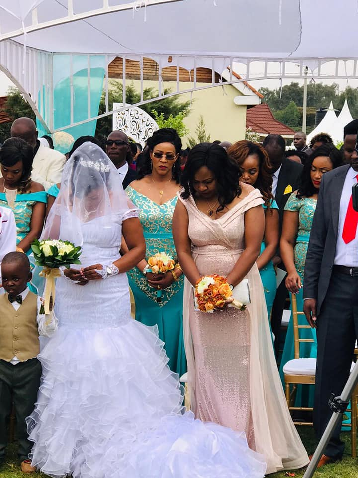 69726794 2818797304815820 7832525286968131584 n - Harusi tunayoooo: Photos gospel artiste Jane Muthoni's posh wedding