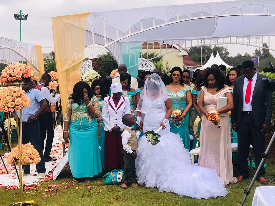 69930426 2818797761482441 5032846611642843136 n - Harusi tunayoooo: Photos gospel artiste Jane Muthoni's posh wedding