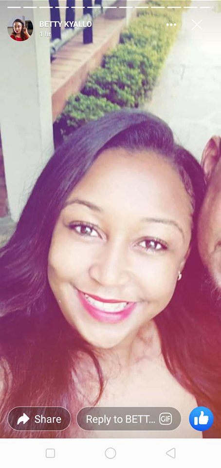 Betty kyallo with bae - 'My man isn't on social media!' Betty Kyallo comes clear about her bae