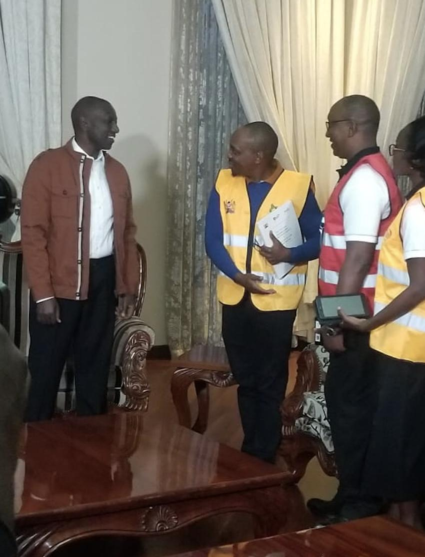 DPs homee - Looks like a palace! Inside DP Ruto plush Karen home (Photos)