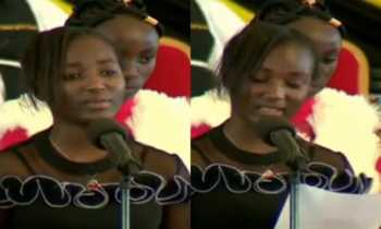 John De Mathew daughter 350x210 - 'I dreamt about the accident,' John De Mathew's daughter leaves mourners in tears