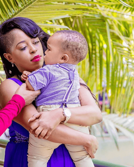 Lillian Muli - Lillian Muli finally unveils her son, Liam's face