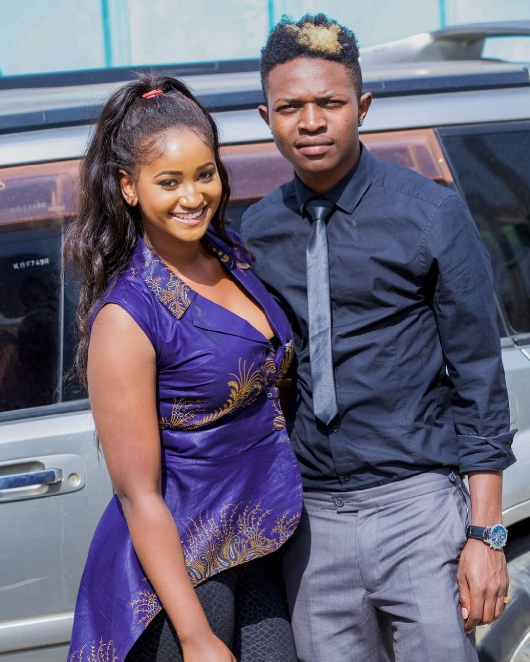 Mr Seed - Proof That Kenyan Gospel Celebrities Have A Thing For Light Skinned Girls