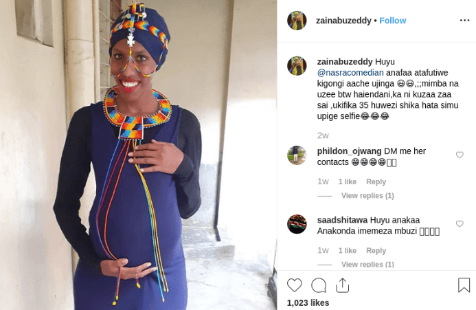 Nasra paged 1 - 'If you beg for a pregnancy, you will get it!' Fans tell comedienne Nasra