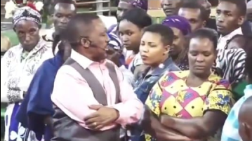Nganga mpasho - Pastor Nganga meets his match! Female congregant stands up to him