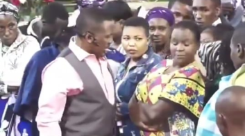 Nganga mpasho2 - Pastor Nganga meets his match! Female congregant stands up to him