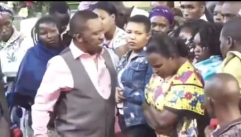 Nganga mpasho5 - Pastor Nganga meets his match! Female congregant stands up to him