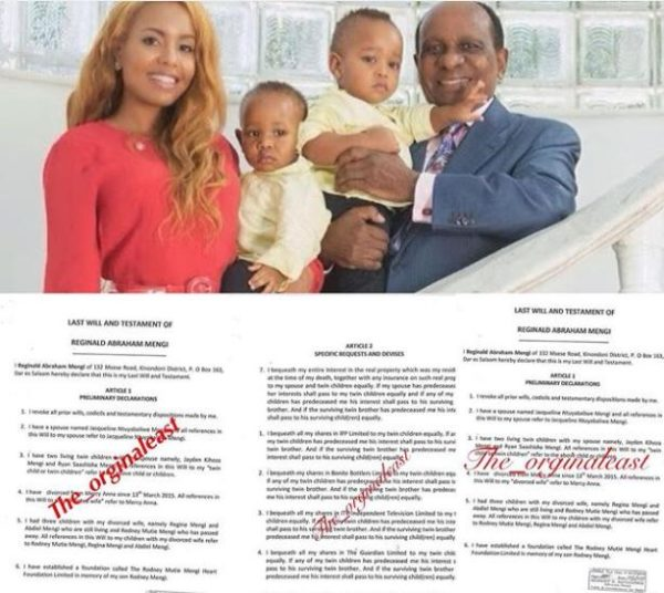 Reginald Mengi will3 600x536 2 - Meet the late tycoon Reginald Mengi's sons who are billionaires