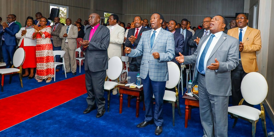 Ruto church10 - Ruto's Karen mansion converted into a church (photos)