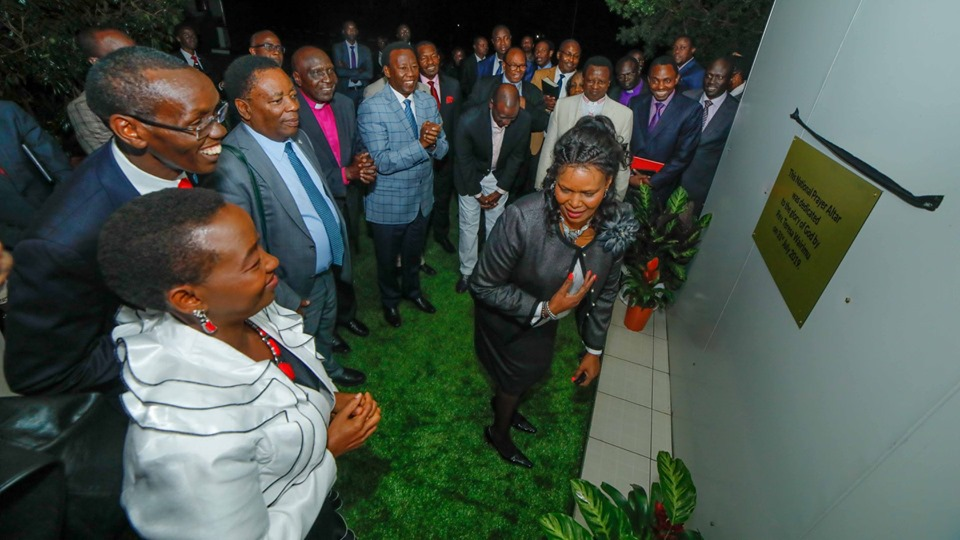Ruto church15 - Ruto's Karen mansion converted into a church (photos)