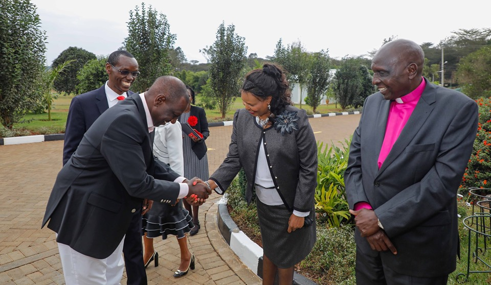 Ruto church3 - Ruto's Karen mansion converted into a church (photos)