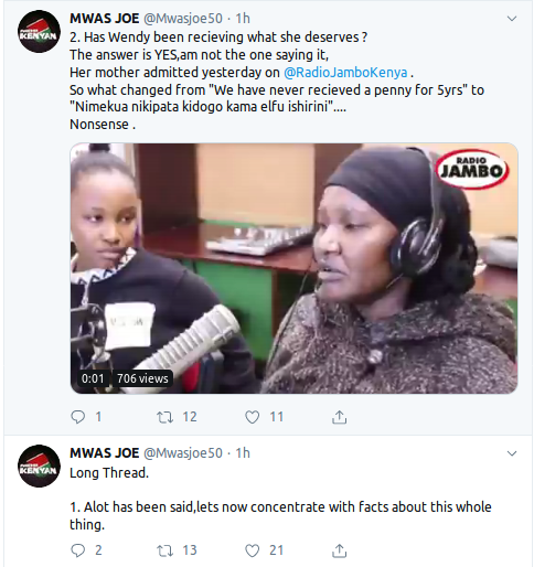 Screenshot from 2019 08 13 120146 - 'I dare Jeff Koinange for an interview!' Wendy Waeni's ex manager Joe Mwangi explodes