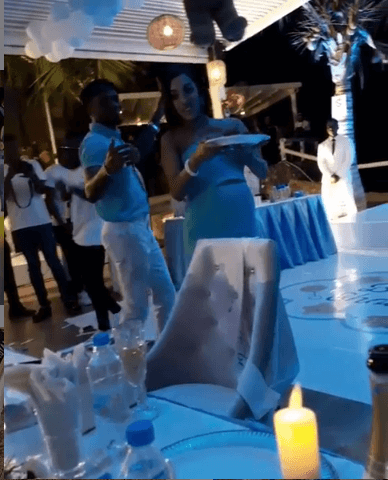 Screenshot from 2019 08 23 06 24 47 - Lanes! This is how Diamond and Tanasha Donna's baby shower went down